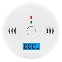1 шт ЖК дисплей Дисплей детектор угарного газа для дома Безопасность