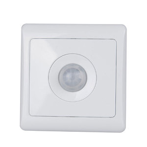 Image 3 - Bcsongben New Arrivals 220v 86 wall smart home led Infrared control energy saving delay  Lights Lamps motion sensor light switch