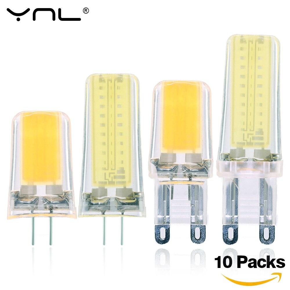 Bombillas LED lamp G4 G9 E14 COB AC DC 12V & 220V Lampada LED Light Bulb Lighting replace Halogen Spotlight Chandelier