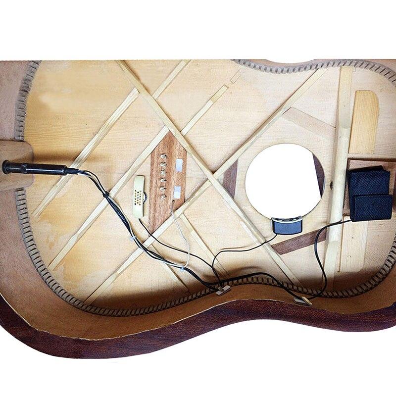 Guitare acoustique trou sonore pick-up Instrument de musique accessoire Portable pour les mélomanes BB55