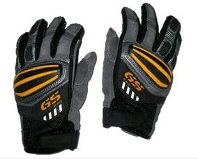 Motorcycle Rally GS Gloves FOR BMW GS1200 GS Cycling Orange Blue Leather Gloves