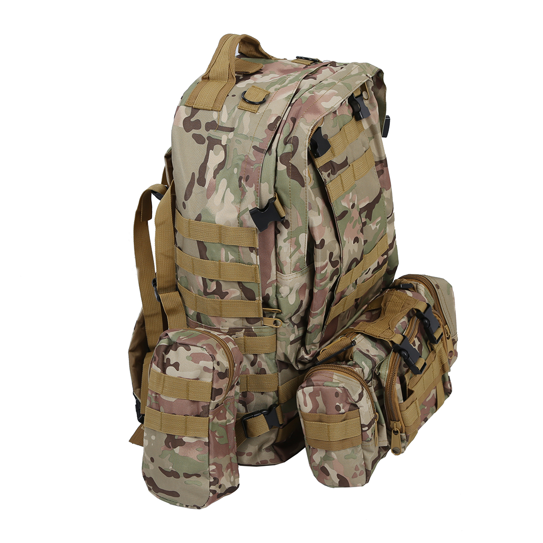 50L 3Day Assault Tactical Outdoor Military Rucksacks Backpack Camping bag new 50l molle high capacity tactical backpack assault outdoor military rucksacks backpack camping hunting bag