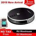 LIECTROUX C30B Robot Stofzuiger, Kaart navigatie, 3000Pa Zuig,, Smart Geheugen, kaart Display op Wifi APP, Elektrische Water tank