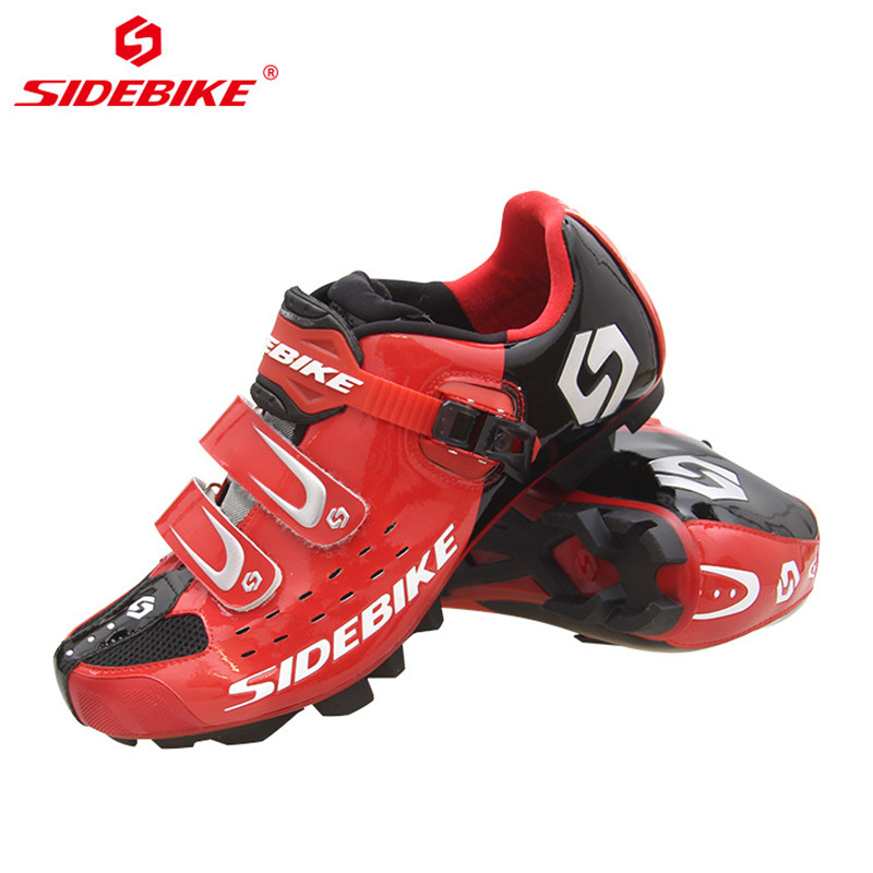 Image 5 - SIDEBIKE Pro Mens Mountain Bike Shoes MTB Cycling Shoes Self Locking Riding Bicycle Shoes with Mesh Holes and hook & loop-in Cycling Shoes from Sports & Entertainment on AliExpress