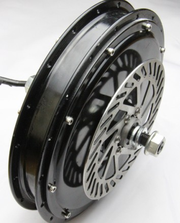 Alta calidad e-bici habló Motores 48 Volt 1000 W brushless dc Hub Motores para la rueda trasera de bicicleta/eléctrico Bicicletas