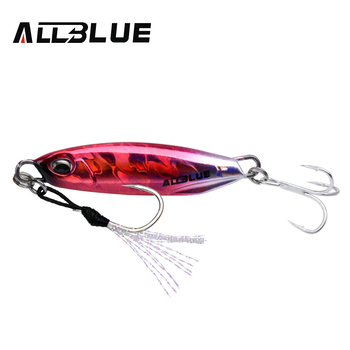 ALLBLUE New DRAGER Metal Cast Jig Spoon 15G 30G Shore Casting Jigging Lead Fish Sea Bass Fishing Lure  Artificial Bait Tackle 13