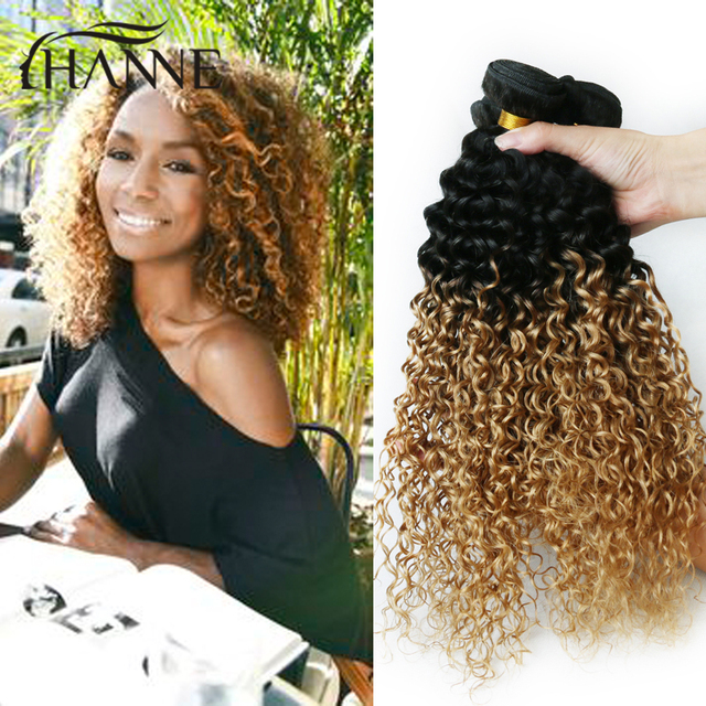 Afro Curly Hair Extensions Blonde It Fitsfo