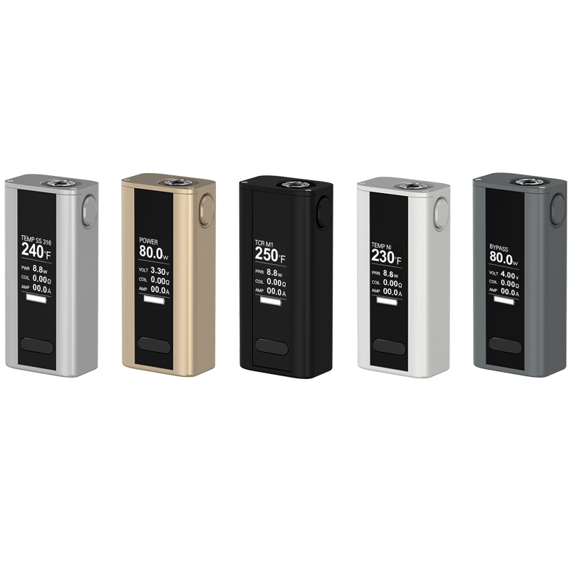 Original Joyetech Cuboid Mini Kit Cuboid Mini 80W Mod Vape With 2400mah battery and Cuboid Mini Atomizer 5ML