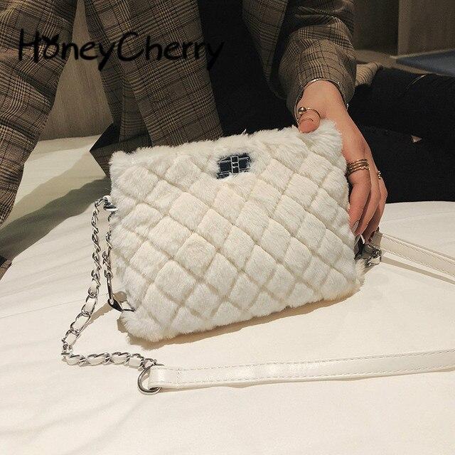 d5ad7d2a209c9 Herbst Und Winter Baonu 2018 Neue Chao Han-ausgabe Schräg Tasche Mode Kette  Mädchen Einzigen Schulter Tasche Handtasche Rosa
