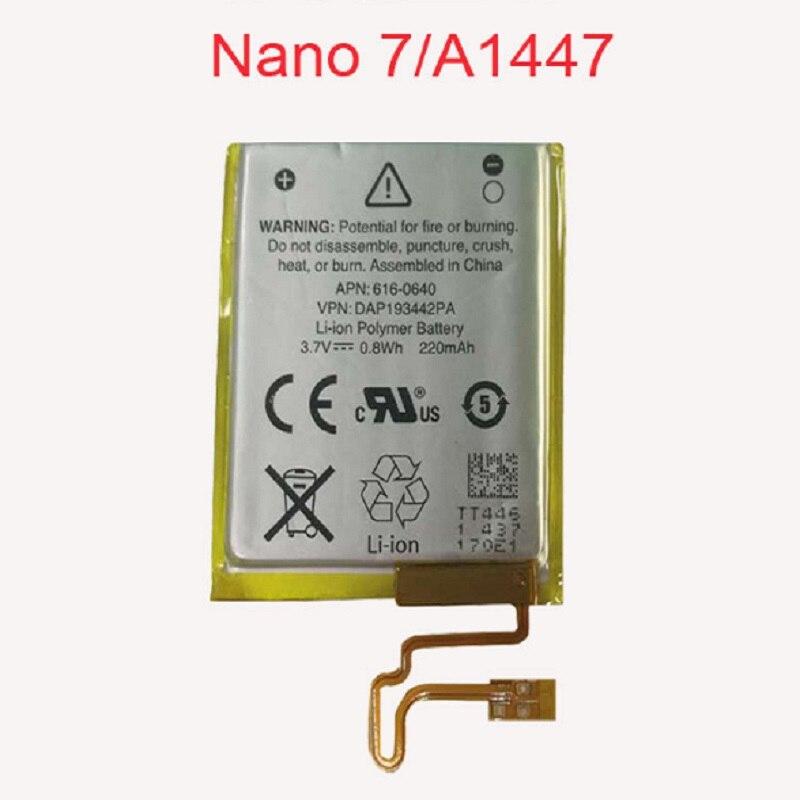 330mAh 3,7 V литий-ионный аккумулятор замена 330mAh для iPod Nano 7 7th Gen с бесплатными инструментами