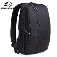 Kingsons Black Laptop Backpack Daily Rucksack Men Computer Bagpacks Mochila Feminina Bag School Bags Men's Backpack Luggage Bags