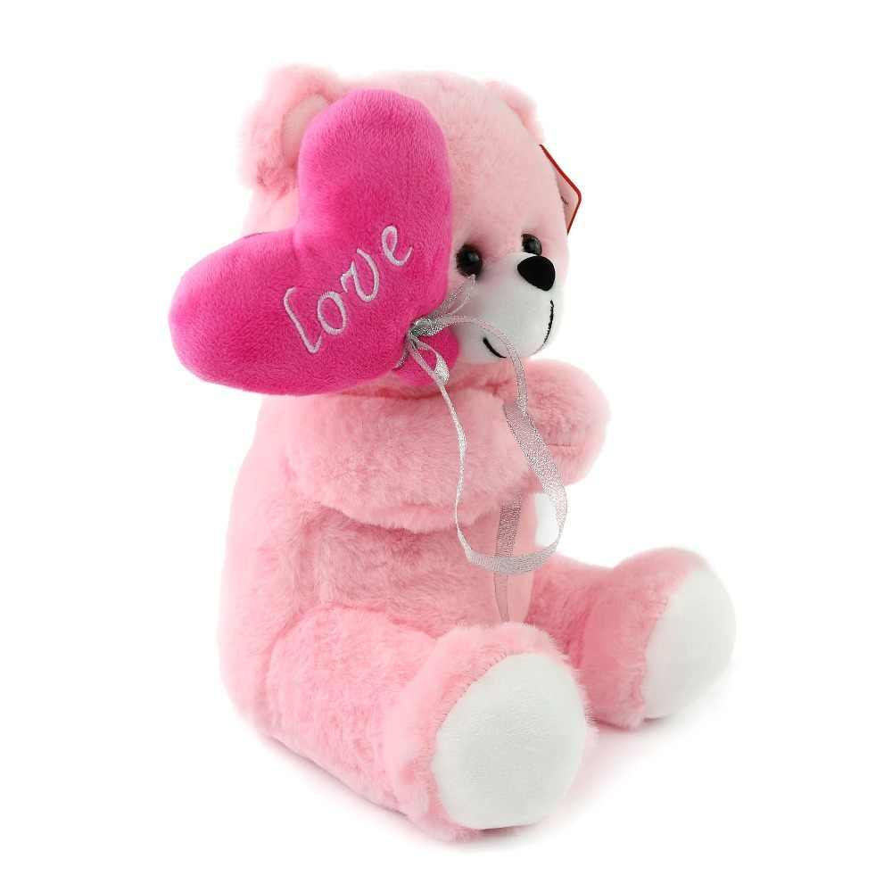 Cozfay จัดส่งฟรี Dropshipping สีชมพูน่ารักนั่งตุ๊กตาตุ๊กตาหมีตุ๊กตาตุ๊กตาหมีหัวใจสีแดงสำหรับ Velentine's ของขวัญ