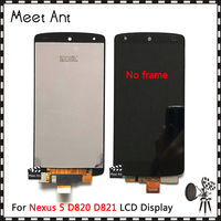 High Quality 4.95'' For LG Google Nexus 5 D820 D821 LCD Display Screen With Touch Screen Digitizer Assembly