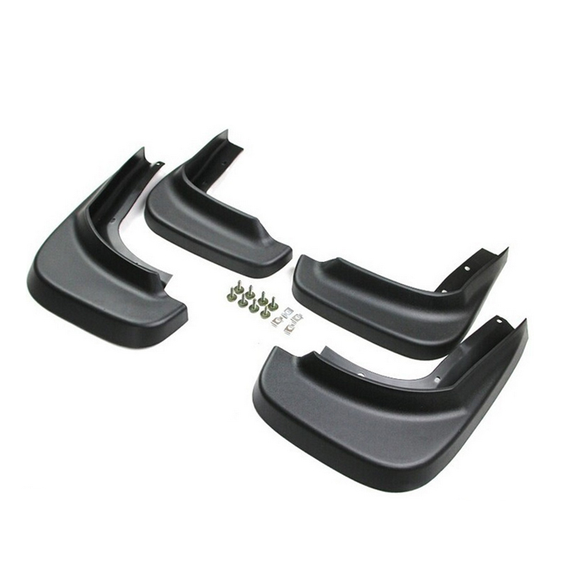 Splash Guards Fender Mud Flaps Mudguard For Volvo XC60 2009 2010 2011 2012 2013 Soft Plastic