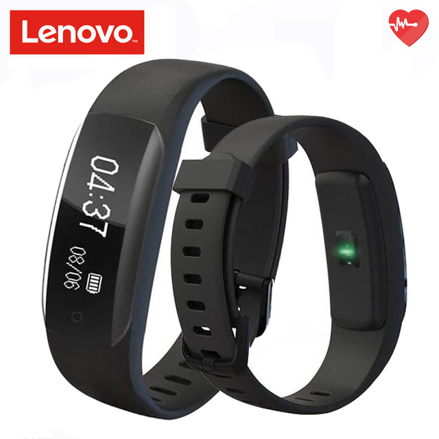 US $34 98 |Lenovo HW01 Plus FEATURING PAI Smart bracelet Bluetooth4 2 Heart  Rate Monitor Sleep Monitor Sports Tracker call message reminder-in Smart