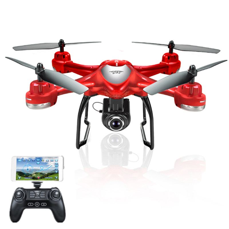 New Arrival S-SERIES S30W Double GPS Dynamic Follow WIFI FPV With 720P Wide Angle Camera RC Drone Quadcopter Racing VS MJX Bugs6 in stock mjx bugs 6 brushless c5830 camera 3d roll outdoor toy fpv racing drone black kids toys rtf rc quadcopter