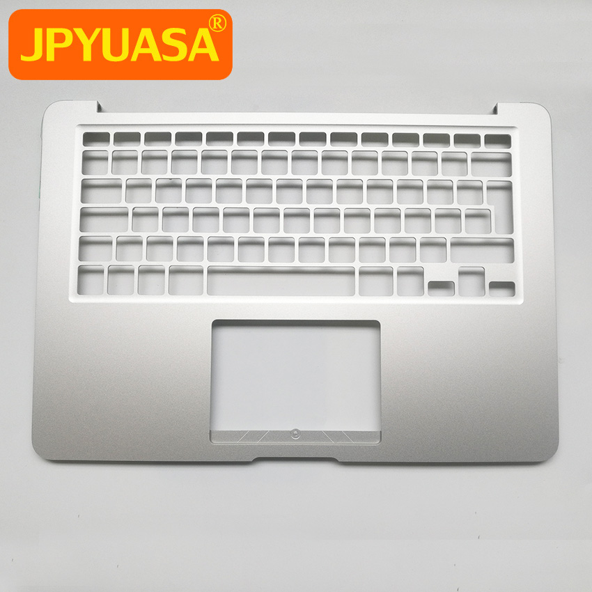 New Top Case Topcase Palm Rest without Keyboard For MacBook Air 13 A1466 UK French German Spain Russian Layout 2013 2014 2015 new topcase with tr turkish turkey keyboard for macbook air 11 6 a1465 2013 2015 years