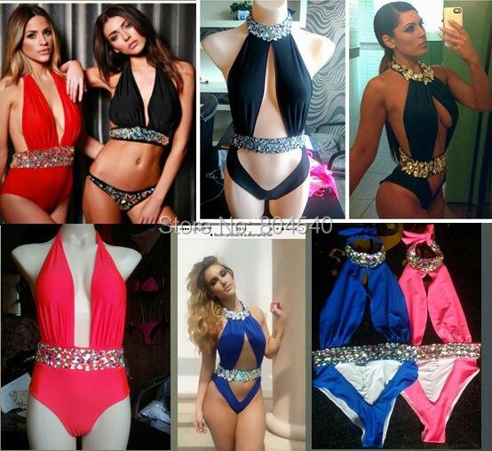 HOTTING! 2015 Venera Tətilinin son dizaynı seksual bikini mayo məşhur lüks çimərlik brilyant mayo