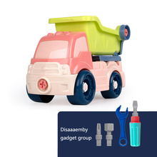 Baby Education Toy Simulation Engineering Vehicles Dump Truck Wheels Kids Toys Classic Colorful Disassembly Car