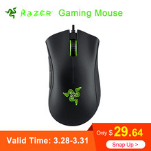 4bb70c747a8 Razer DeathAdder Essential Wired Gaming Mouse Mice 6400DPI Optical Sensor 5  Independently Programmable Buttons Ergonomic Design