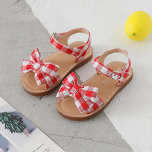 Bekamille 2019 New Girls Sandals Summer Kids Shoes Bowtie Pl