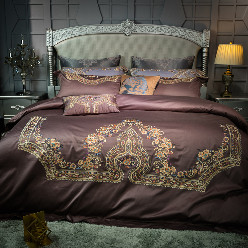 New 4pcs bedding sets comforter bed sheet king size Queen Bed Set Egyptian cotton Embroidery Duvet Cover Bed linensNew 4pcs bedding sets comforter bed sheet king size Queen Bed Set Egyptian cotton Embroidery Duvet Cover Bed linens