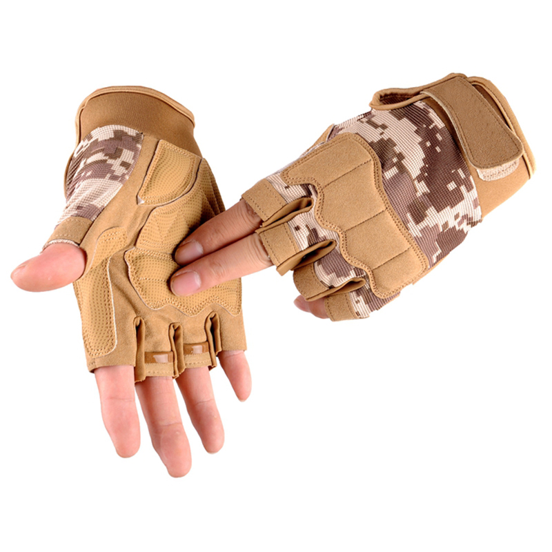 Outdoor Tactical Fingerless Gloves Military Army Shooting Hiking Hunting Climbing Cycling Riding Airsoft Half Finger GlovesOutdoor Tactical Fingerless Gloves Military Army Shooting Hiking Hunting Climbing Cycling Riding Airsoft Half Finger Gloves