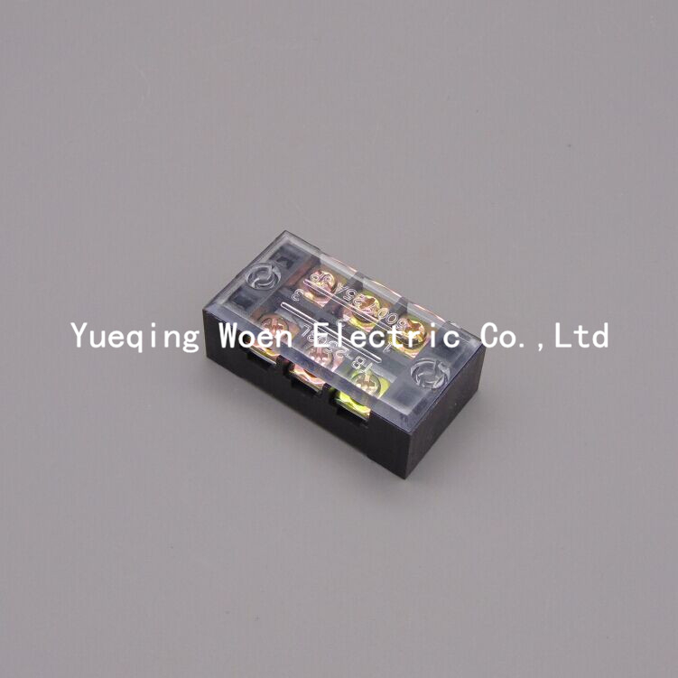 terminal blocks tb 2503 25a 3p patch panel wiring row. Black Bedroom Furniture Sets. Home Design Ideas
