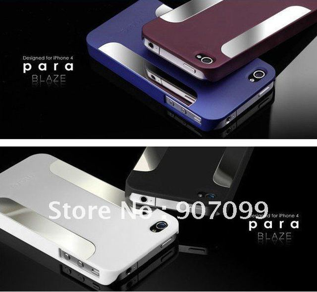 Wholesale 50pcs/lot more para blaze case Cover for iphone4 iphone 4S Free EMS DHL Fast Shipping  QIm