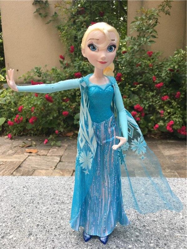 Original Disney Princess Frozen Elsa Queen 10 Fashion Doll Action Figure New No Package цена
