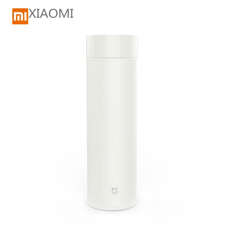 Original Xiaomi Mijia 500ml Water Bottle Portable Kettle Stainless Steel Thermal Slim design thermal cold insulation for 24 hour 220v 10a wall switch socket 4 port usb charger power outlet adapter panel g07 drop ship