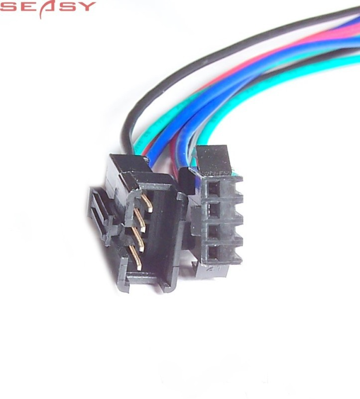 20pairs 4 Pin Male Female Rgb Connector Cable For 3528