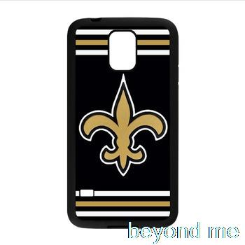 New Orleans Saints Black Silicone iPhone 5 Cover