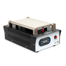 Новейшая модель; черные 7-дюймовый ЖК-дисплей для разделения TBK-988 со встроенным вакуумный насос Сенсорный экран сепаратор машина для ремонта телефона