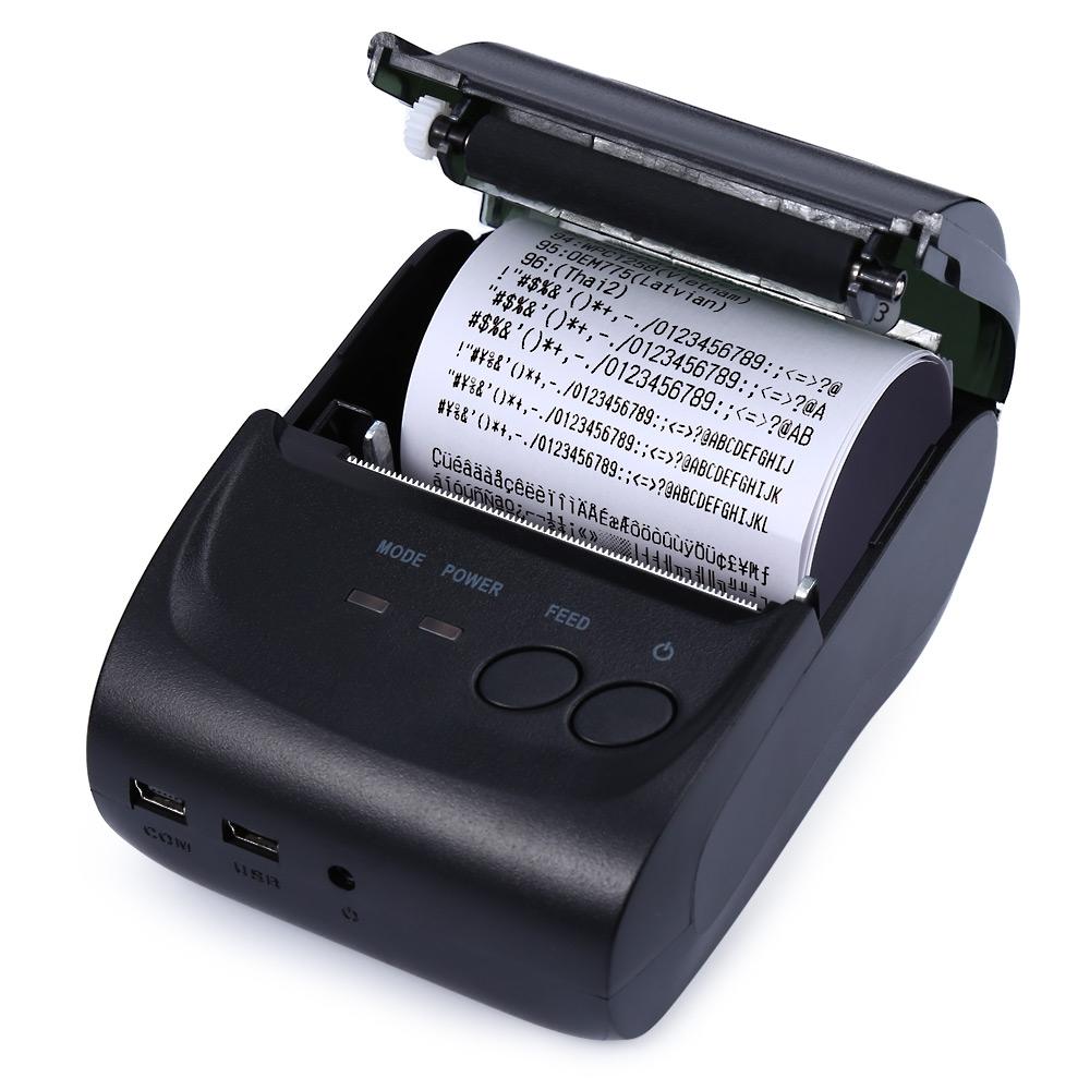 Buy hot 58mm mobile mini portable thermal receipt printer for Thermal windows reviews