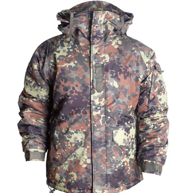 Новейшее издание Southplay Зимний сезон Водонепроницаемая 10 000 мм камуфляжная Военная лыжная куртка для сноуборда
