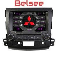 Belsee Android 8,0 Автомагнитола двойной 2 din Автомобильный Радио мультимедийный плеер Восьмиядерный стерео для Mitsubishi Outlander 2006 2012