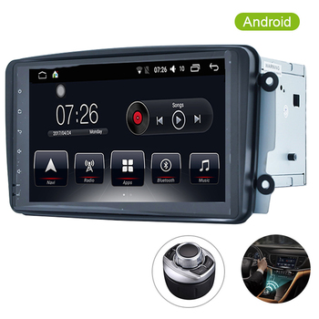Car Multimedia player dvd automotivo GPS 2 Din Android 7.1 2G/16G For Mercedes/Benz/CLK/W209/W208/Vaneo/Viano/Vito Autoradio image