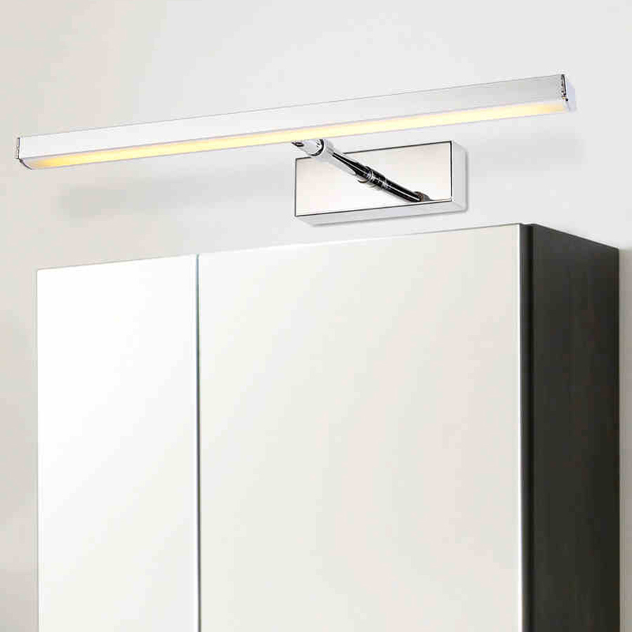7w 39cm Bathroom Led Mirror Front Light Led Stainless Steel Wall Mounted Make Up Bathroom Lights