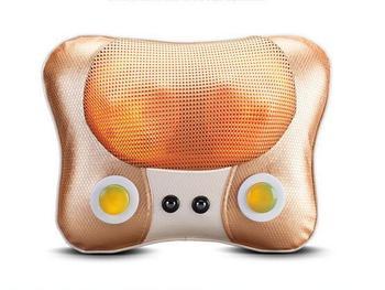 Jade Magnet Heating Electric Massage Pillow Vibrating Kneading Neck Body Massager Hammer Shiatsu Shoulder Back Massage Massages