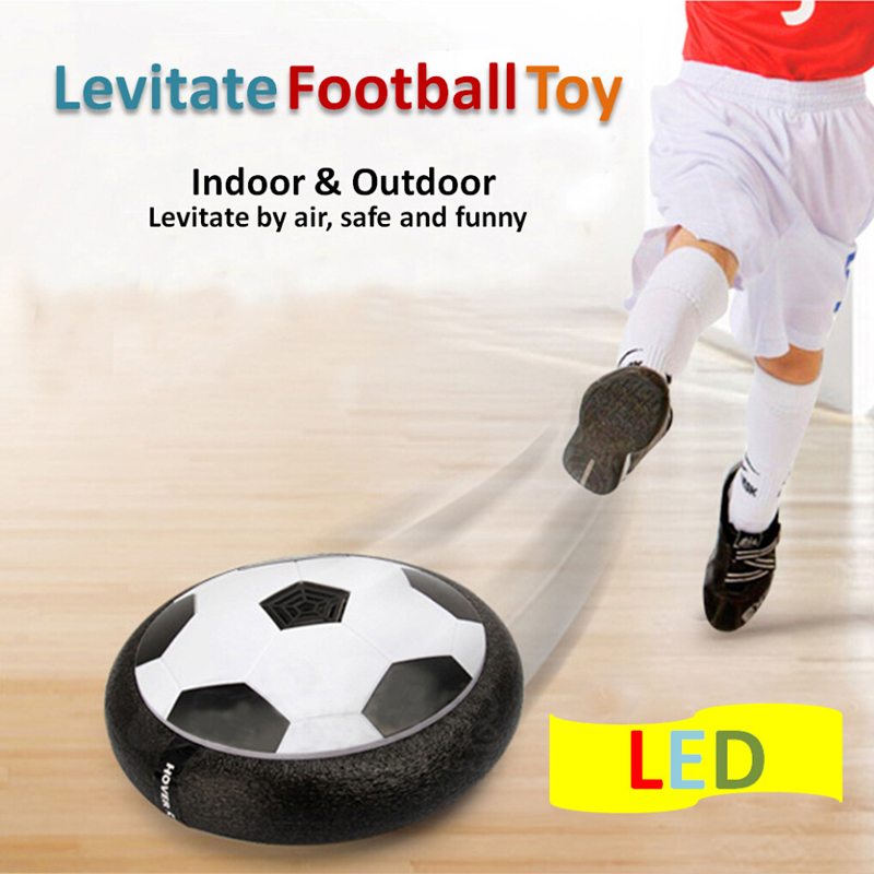 New Arrival 1Piece Air Power Soccer Ball Disc Indoor Football Toy Multi-surface Hovering and Gliding Toy