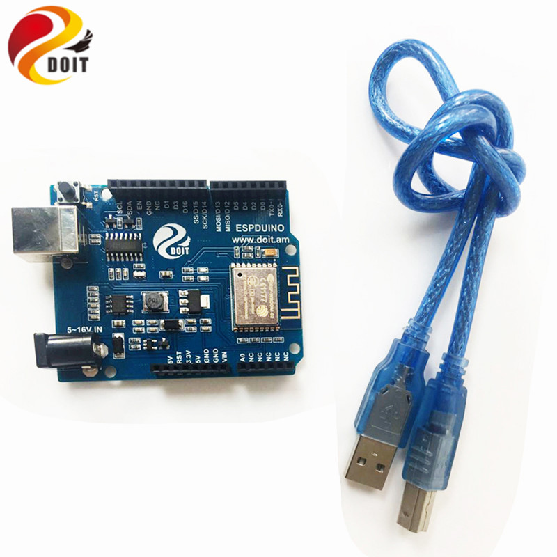 DOIT ESPDuino WiFi UNO R3 Compatible with Arduino Development Board from ESP 8266 ESP 13 DIY