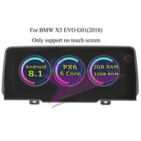 Roadlover Android 8.1 Car Multimedia Player For BMW X3 EVO G01 (2018) Stereo GPS Navigation Automagnitol 2 Din Radio NO DVD MP4