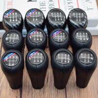 6 5 скорости из натуральной кожи ручка переключения передач с принтом буквы «м Пульт дистанционного управления для BMW 1 3 5 6 серии E30 E32 E34 E36 E38 E39...