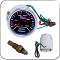 "2 ""52 MM Universal Calibre Carro Medidor de Temperatura Da Água 40-150 ° C Medidor de Auto Branco LEVOU"