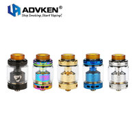 Authentic Advken MANTA RTA 5ml 3 5ml Capacity Rebuildable Tank Atomizer Air Flow Control Top Refill
