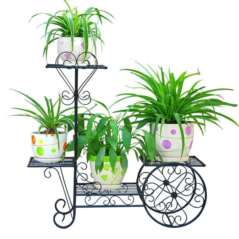 Decorative Metal Dekoru Sera Dekarosyon Mensole Per Fiori Afscherming Shelf Plant Stand Balkon Balcony Flower Iron Rack все цены