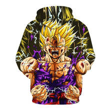 Dragon Ball Z Son Goku Hooded 3d Printed Men Sweatshirt