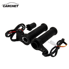 CARCHET Motorcycle Handlebar Heating Handle Heated Grips Set Universal 7 8 Motocross Handlebar for Yamaha for