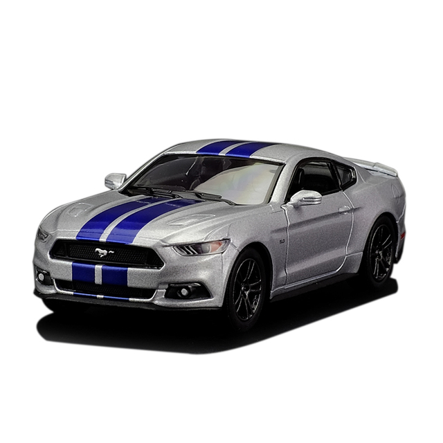 High Simulation  Ford Mustang Gt Alloy Pull Back Model Cars Two Door Sports